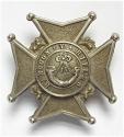 Burma. Rangoon Volunteer Rifles helmet plate - picture 1