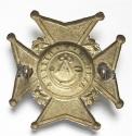 Burma. Rangoon Volunteer Rifles helmet plate - picture 2