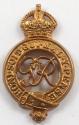 Household Cavalry GVIR cap badge - picture 1