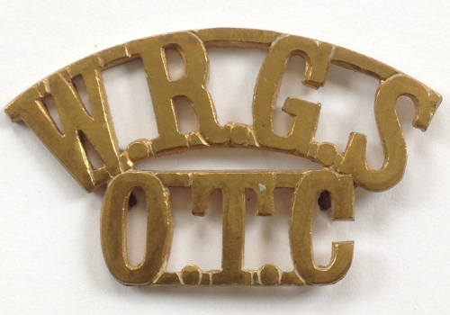 WRGS / OTC Worcestershire shoulder title