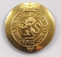 Royal East India Volunteers Officer button - picture 1