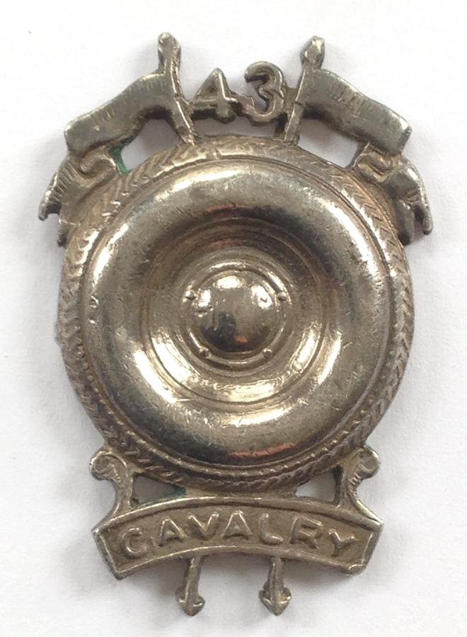 Indian Army. WW2 43rd Cavalry badge