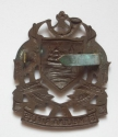 St Helena Rifles Officers OSD Bronze Cap Badg - picture 2
