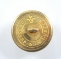 29th (Worcestershire) Foot gilt tunic button - picture 2