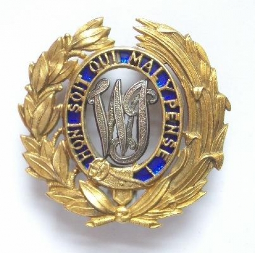 West India Regiment Officer's badge