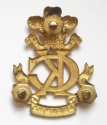 Kings Colonials Officer's gilt badge - picture 2