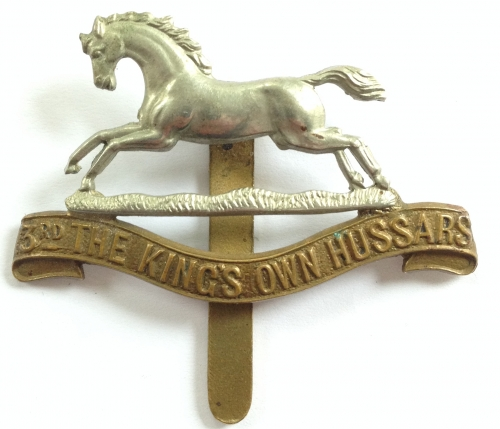 3rd The Kings  Own Hussars cap badge