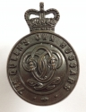 7th Queens Own Hussars OSD bronze cap badge - picture 1