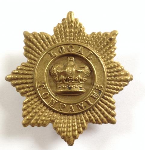 Local Companies of Militia glengarry badge