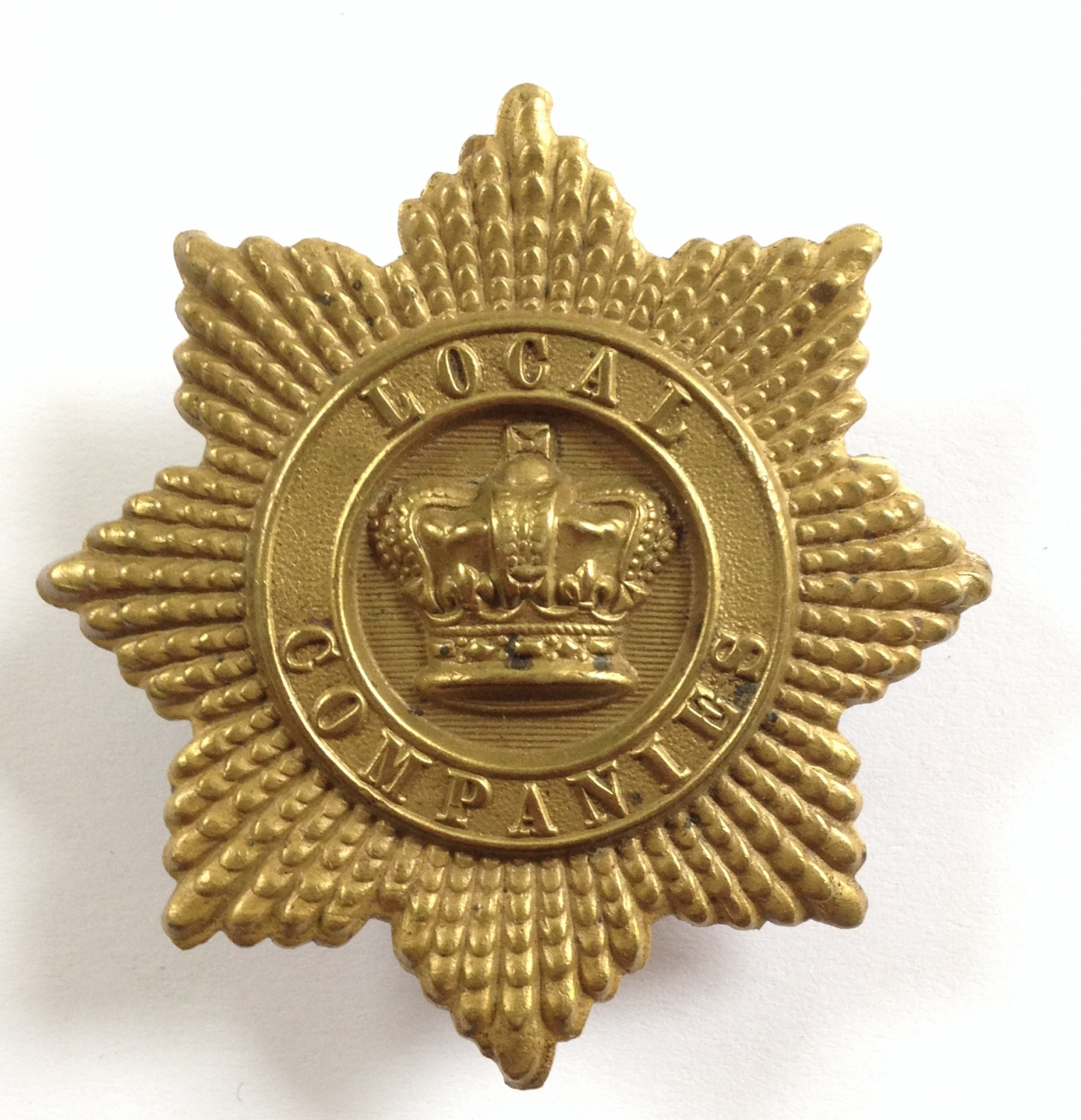 Local Companies of Militia glengarry badge