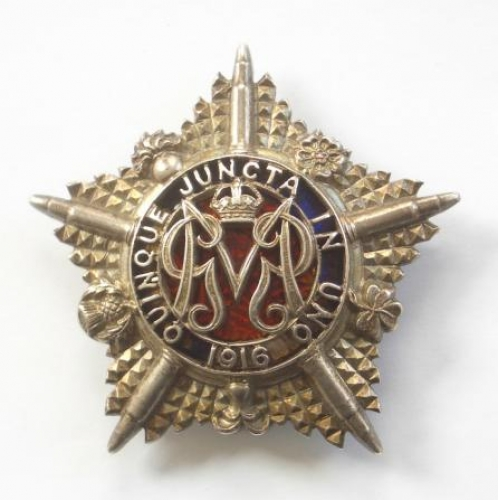 Machine Gun Guards 1917 HM silver badge