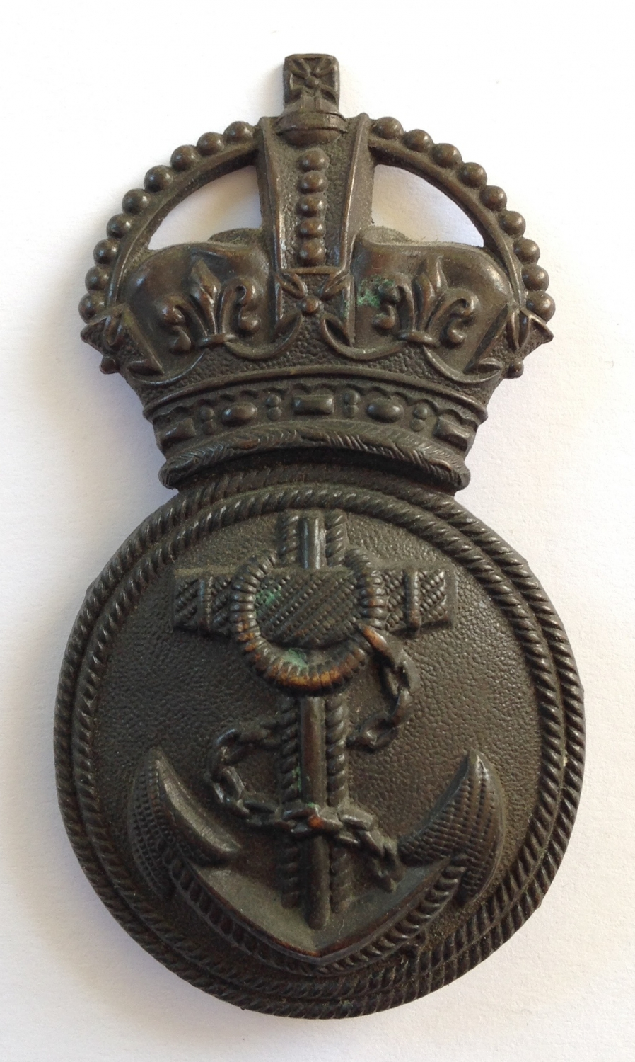 RND Chief Petty Officer cap badge