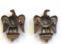 Royal Dragoons pair of collar badges - picture 2