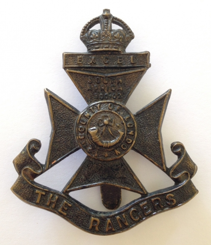 12th London Rangers cap badge