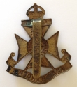 12th London Rangers cap badge - picture 2