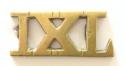 IXL cast brass 9th Lancer title - picture 1