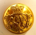 Grenadier Guards Victorian Officer's button - picture 1