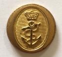 Royal Navy  fine gilt button c1795-1812 - picture 1
