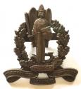 Dunfries-shire VTC rare WW1 bronze cap badge. - picture 1