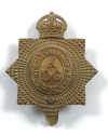 King's Dragoon Guards all brass cap badge - picture 1