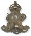 Surrey Yeomanry  1913 HM silver arm badge - picture 2