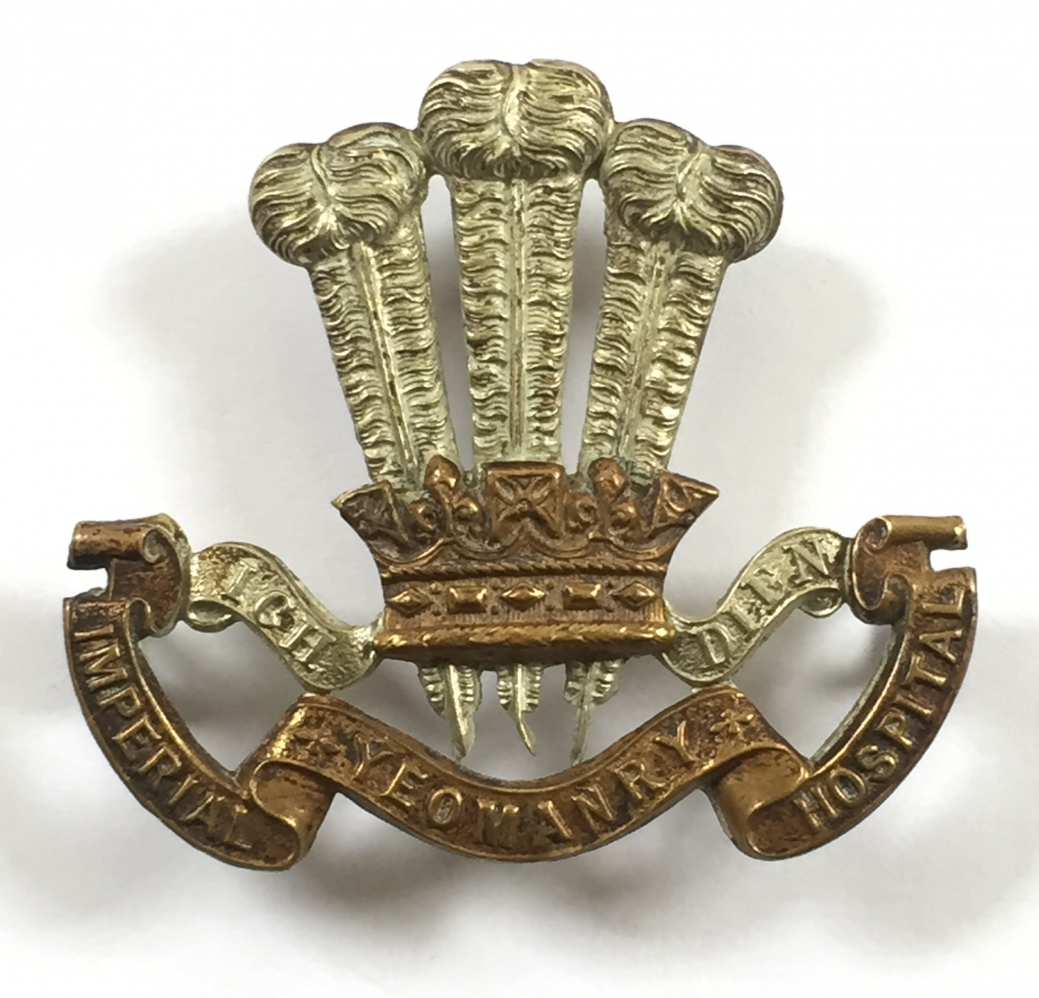 Imperial Yeomanry Hospital cap badge
