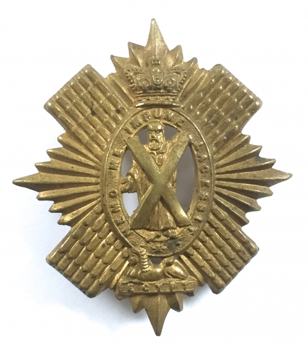 42nd Foot (Black Watch) glengarry badge