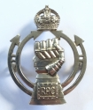 Royal Armoured Corps 1941 HM silver badge. - picture 1