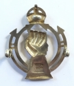 Royal Armoured Corps 1941 HM silver badge. - picture 2