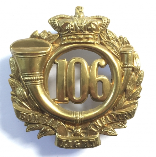 106th Victorian OR's glengarry badge circa