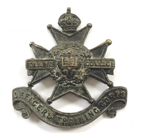 Trent College OTC cap badge