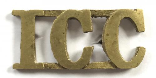ICC (Imperial Camel Corps) shoulder title