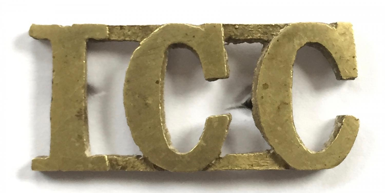 ICC (Imperial Camel Corps) shoulder title