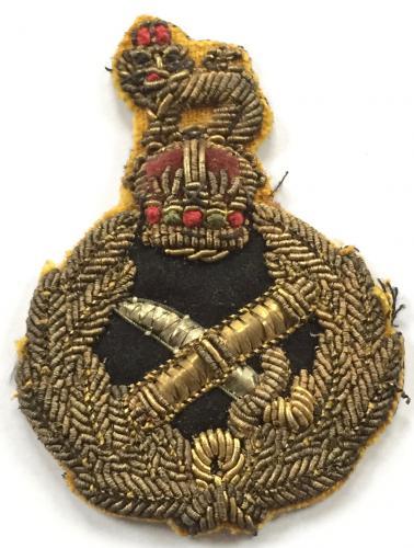 Generals WW2 cap badge