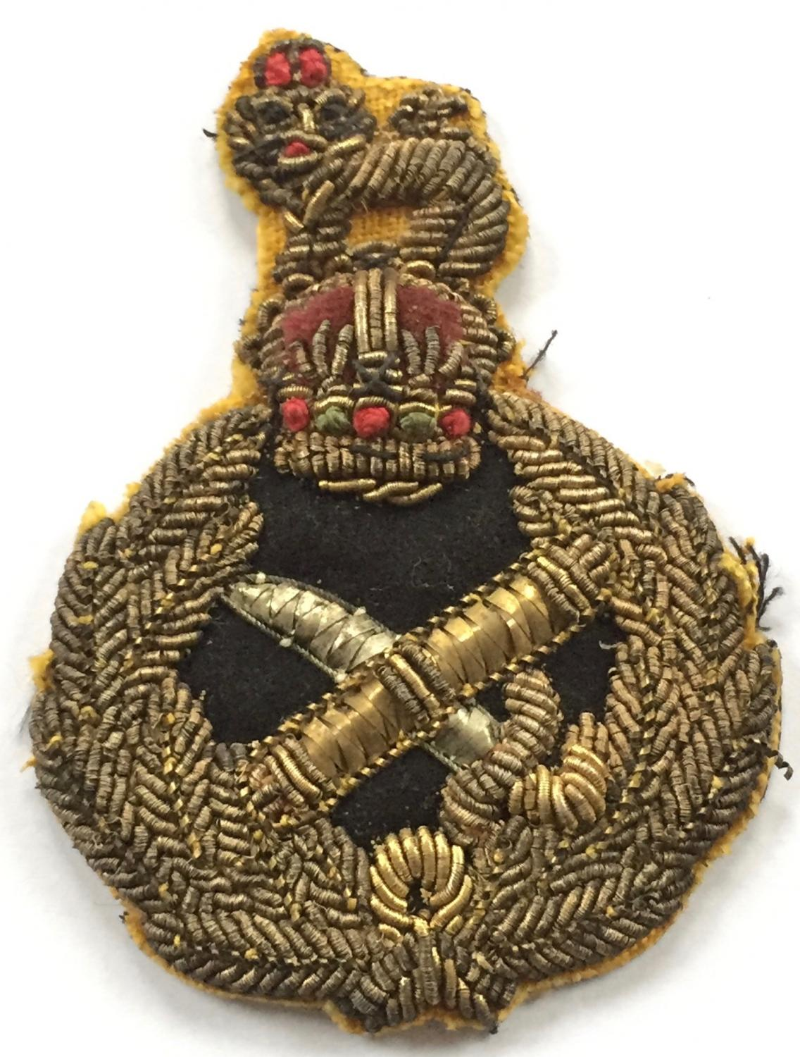 Generals WW2 cap badge