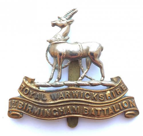 1st Birmingham Pals cap badge