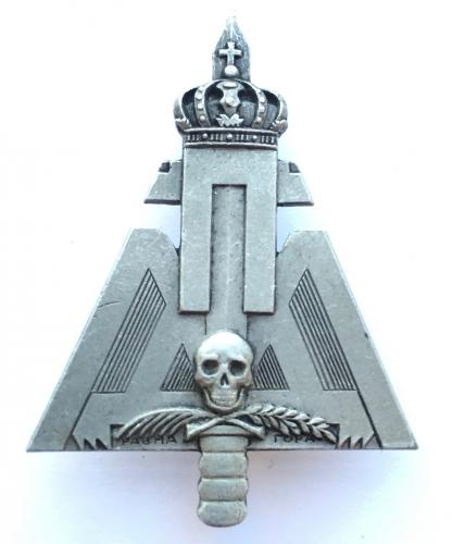 WW2 Serbian Chetnik 'Ravna Gora' badge.