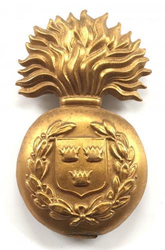 Royal Munster Fusiliers glengarry badge