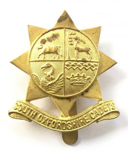 South Oxfordshire Cadets cap badge by Gaunt