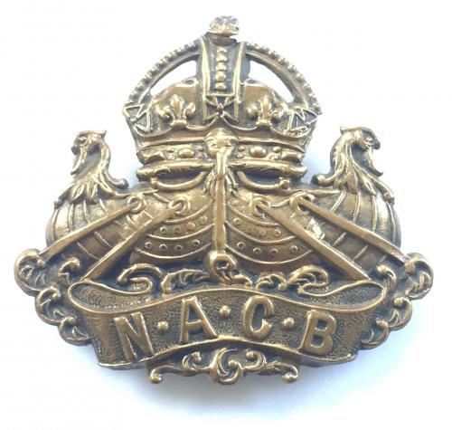 Naval & Army Canteen Board cap badge
