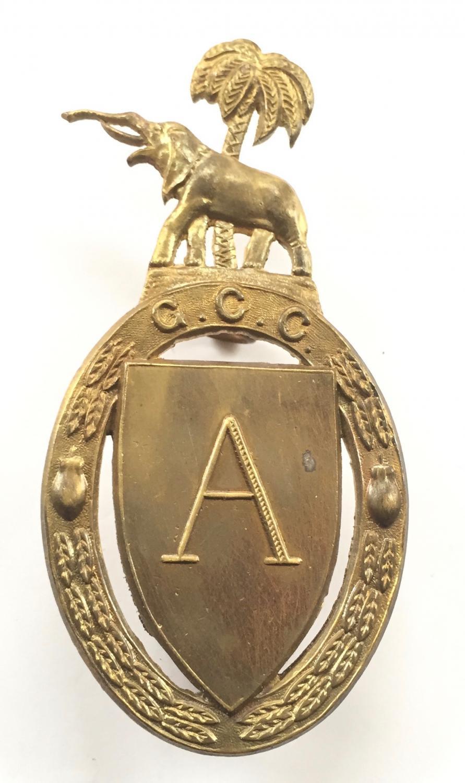 Gold Coast Cadets cap badge