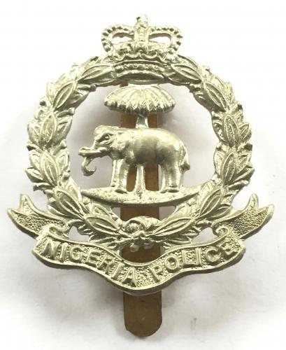 Nigeria Police cab badge by Dowler