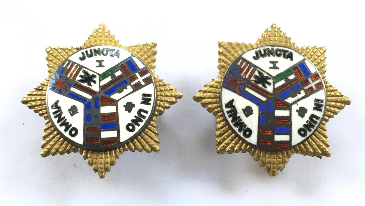Shanghai Volunteer Corps collars