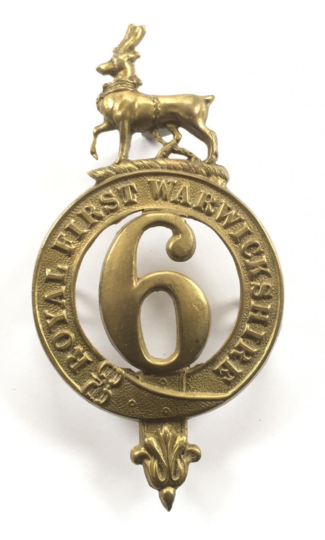 6th (R. First Warwickshire)  Foot glengarry