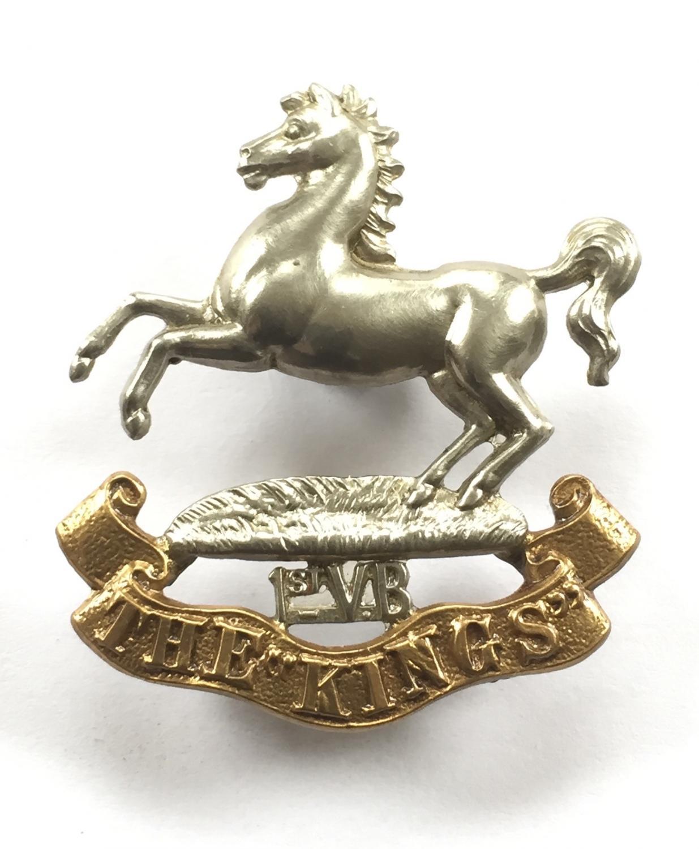 1st VB King's Liverpool Regiment badge