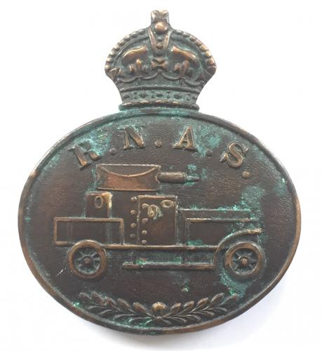 RNAS Armoured Car WW1 badge