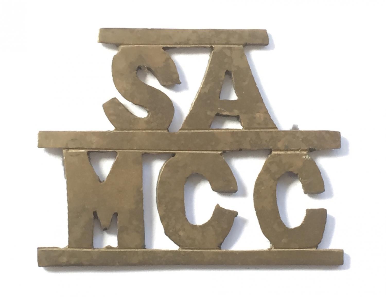 SA Motor Cycle Corps WW1 title