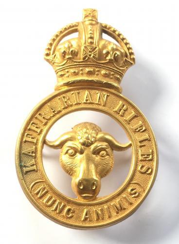 SA Kaffrarian Rifles Officer badge