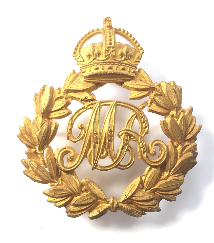 Mauritius Railways gilt cap badge