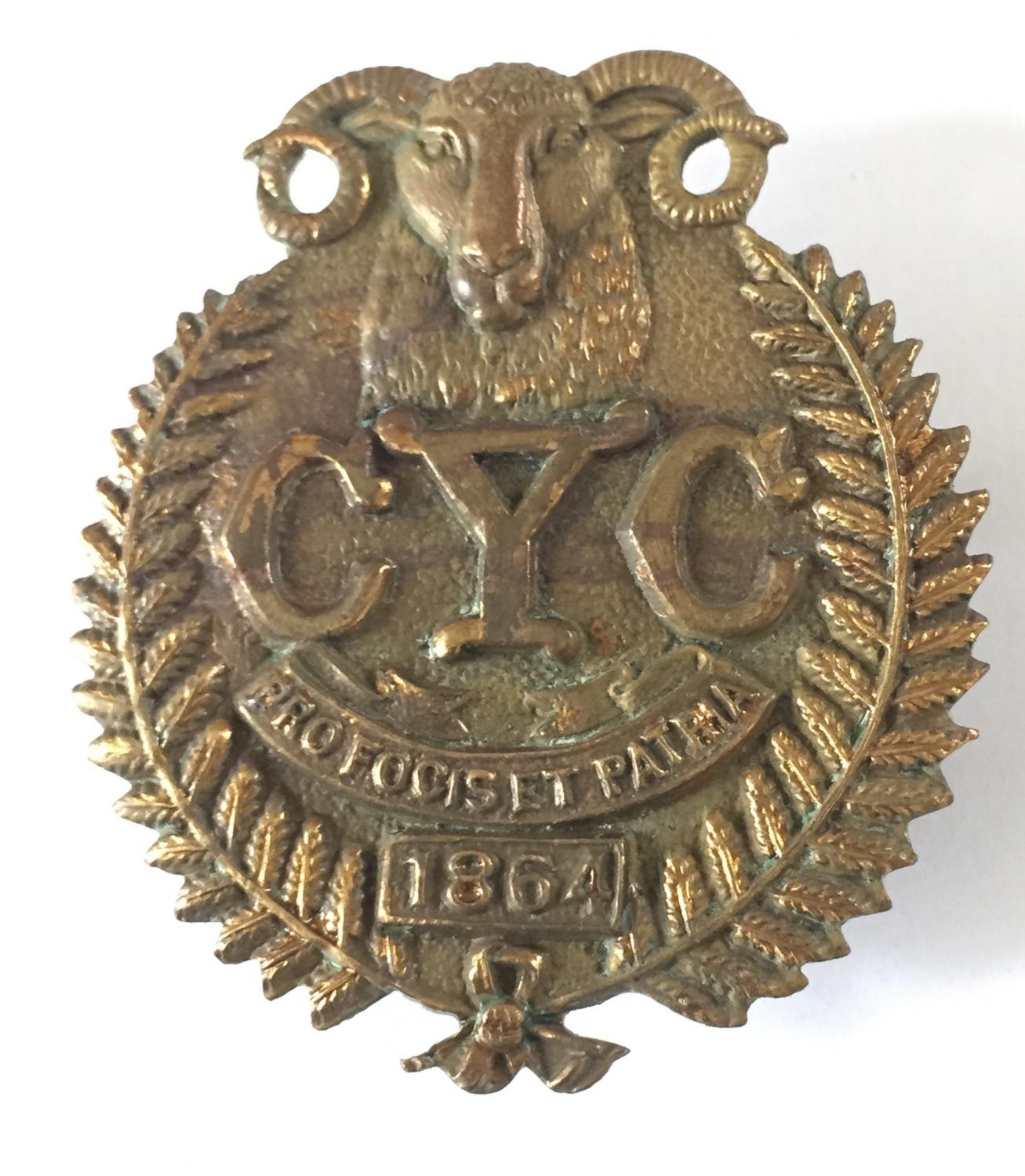 NZ Canterbury Yeomanry Cavaly badge